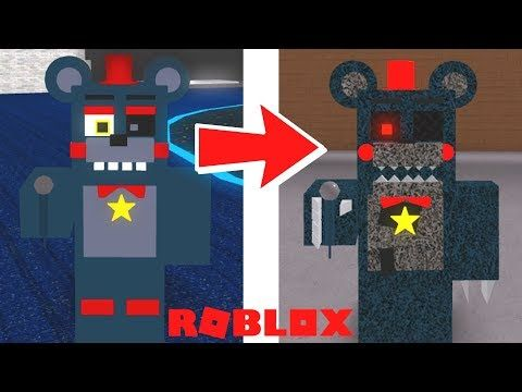 Creating And Becoming Nightmare Fnaf 6 Animatronics Roblox