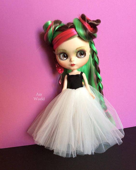 Vlastní panenka Blythe