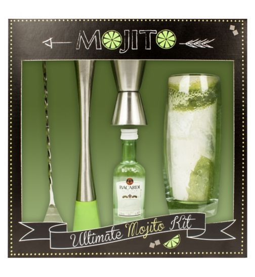 Buy Ultimate Mojito Kit Bacardi Rum Gift Set | Gift - Boots ...