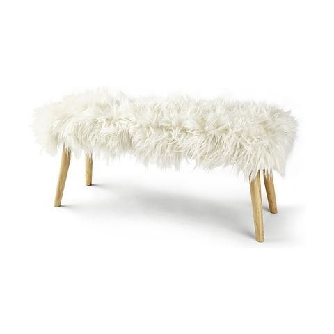 Superb Mongolian Faux Fur Bench In 2019 Patterned Armchair Bench Squirreltailoven Fun Painted Chair Ideas Images Squirreltailovenorg