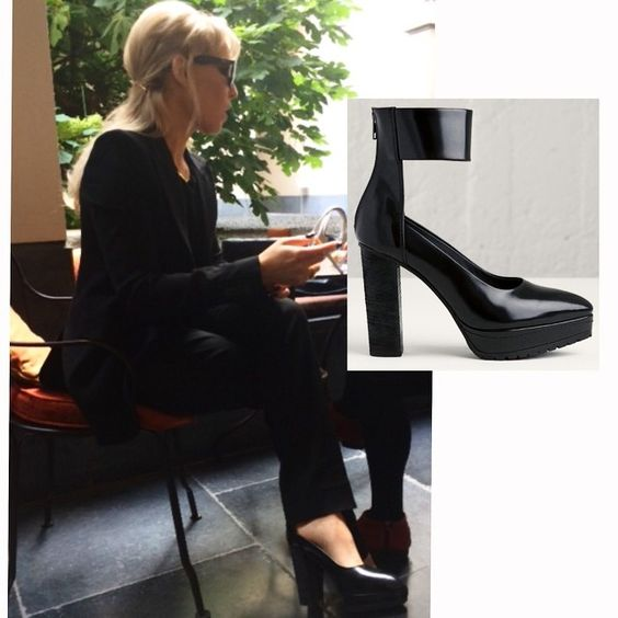 Noomi Rapace in #Tangled Pump #ReschiaShoes