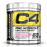Cellucor C4 Pre Workout Supplements with Creatine Nitric Oxide Beta Alanine and Energy 60 Servings Pink Lemonade 13.75 Oz / 390g