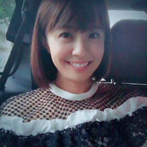 小林麻耶かわいい車内ショット!