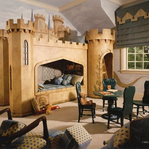 Traditional kid and photos on pinterest for Castle bedroom ideas