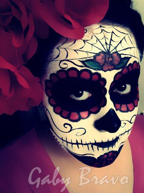 Fashion Nails & Makeup: Dia de Muertos La Catrina