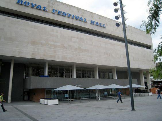 Outside Royal Festival Hall, Southbank