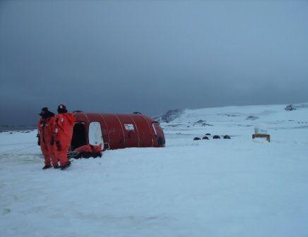 Campamento Byers #antartida #polosur