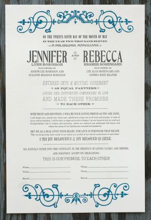 Vintage-Inspired-Letterpress-Wedding-Certificate-Blue