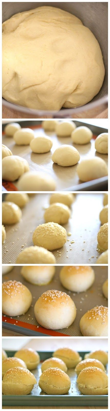 Recipe Best: Homemade Mini Hamburger Buns