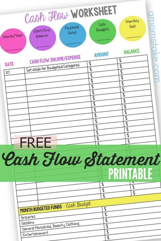 8 great ways to earn passive income - cash flow statement