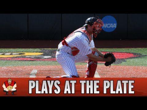 Catching 101 Baseball Catchers Fielding Plays At The Plate Baseballvideos Baseball Catcher Baseball Workouts Play Baseball