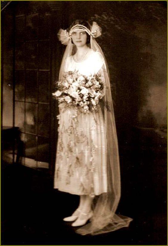 Mariées vintage - 1917
