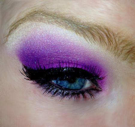 Purple Smokey Eye https://www.makeupbee.com/look.php?look_id=89035