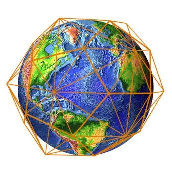 La red de conciencia Cristica o Red electromagnética, es una red de luz cristalina sobre la superficie de la Tierra. Es un aspecto de la conciencia colectiva que nos reconoce como a un solo ser. Unifica las polaridades, lo femenino y masculino e integrando, emociones, información, amor y luz. Está formada por icosaedros y dodecaedros unos adentros de otros, creando una esfera que contiene las figuras de la geometria sagrada. Representando en varias partes al ADN y al Arbol de la vida.: