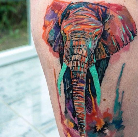 Tatuagem aquarela 9