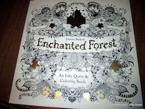 Coloring Book on the Virtual Fridge - an art link-up at Homeschool Coffee Break @ kympossibleblog.blogspot.com