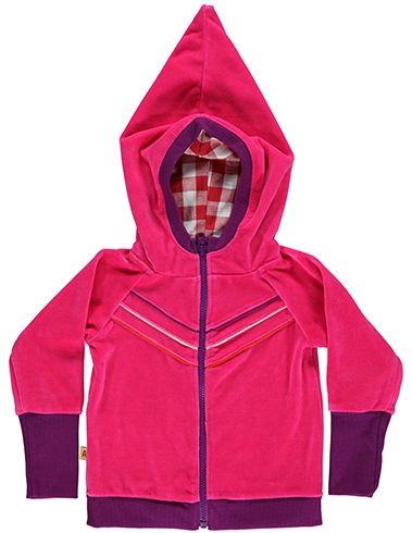 GEVONDEN - Albababy - BARON Zipper Hood Pink - Winter 2013