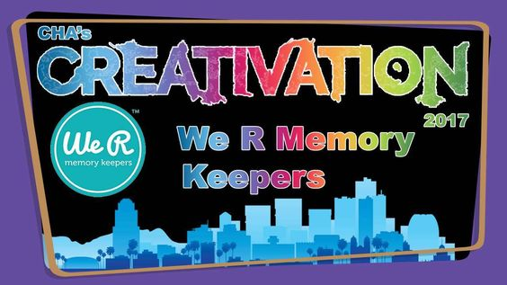 We R Memory Keepers - Tab and Planner Punch Boards - Creativation 2017 - http://www.craftsbytwo.com/we-r-memory-keepers-creativation-2017/ We R Memory Keepers always has such fun and innovative products at Creativation. Join us for a quick tour of their booth and then a demonstration of the Tab Punch Board and the Planner Punch Board!