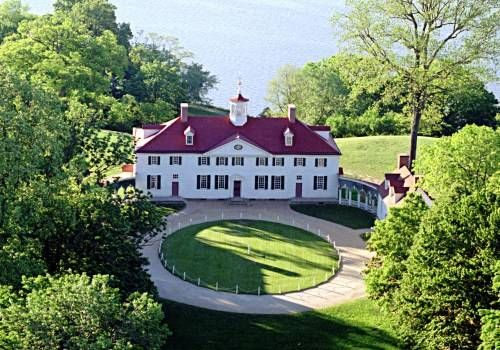 Aerial View of Mount Vernon