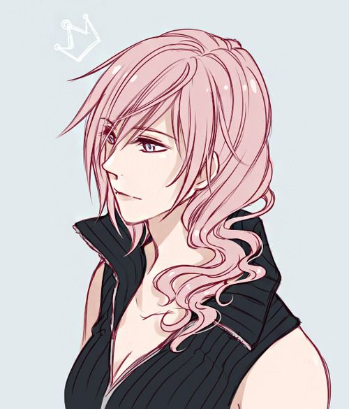 Anime Characters Use Lightning : Lightning farron tumblr on we heart it ⚡lightning