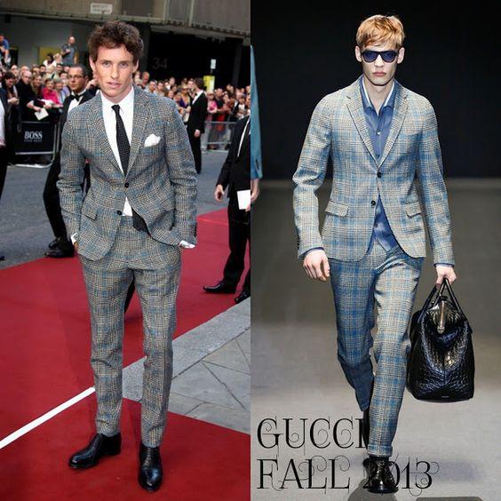 Male Fashion Trends: Eddie Redmayne en Gucci – GQ Men Of The Year Awards 2013 #GQAwards
