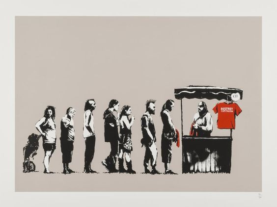 Sale end  - Banksy Banksy - 727Gallery, you can see more at…