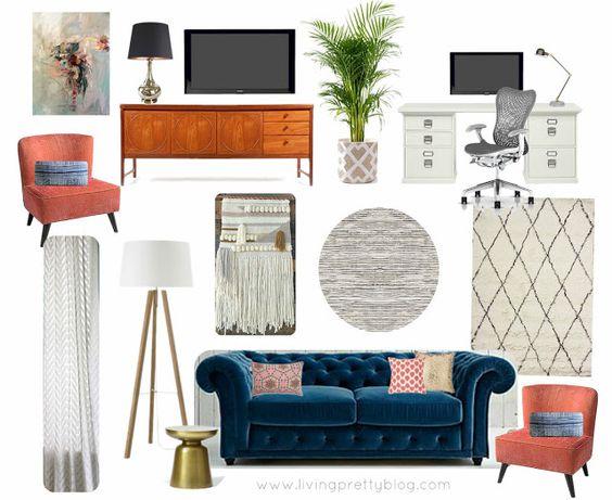 Living Pretty: Living Room Progress And To Do List