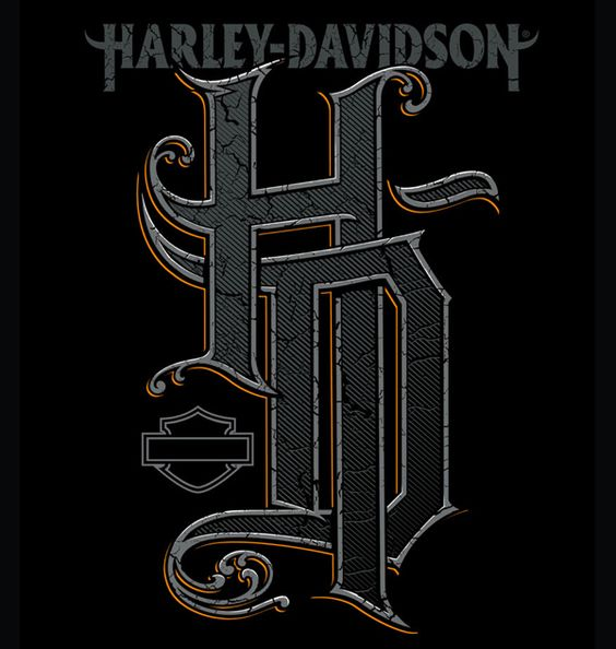 Harley davidson by soup group inc via behance gfx for Harley davidson motor company group inc