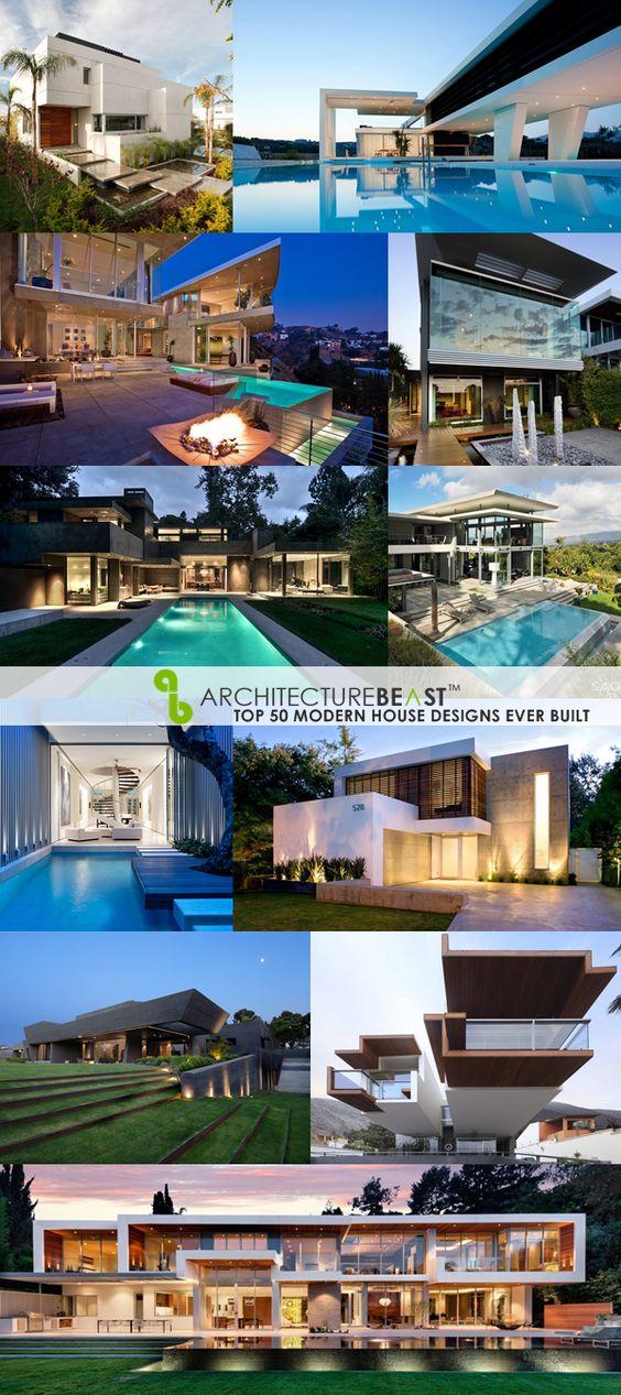 Top 50 Modern House Designs Ever Built: Architecture Beast: Top 50 Modern House Designs Ever Built