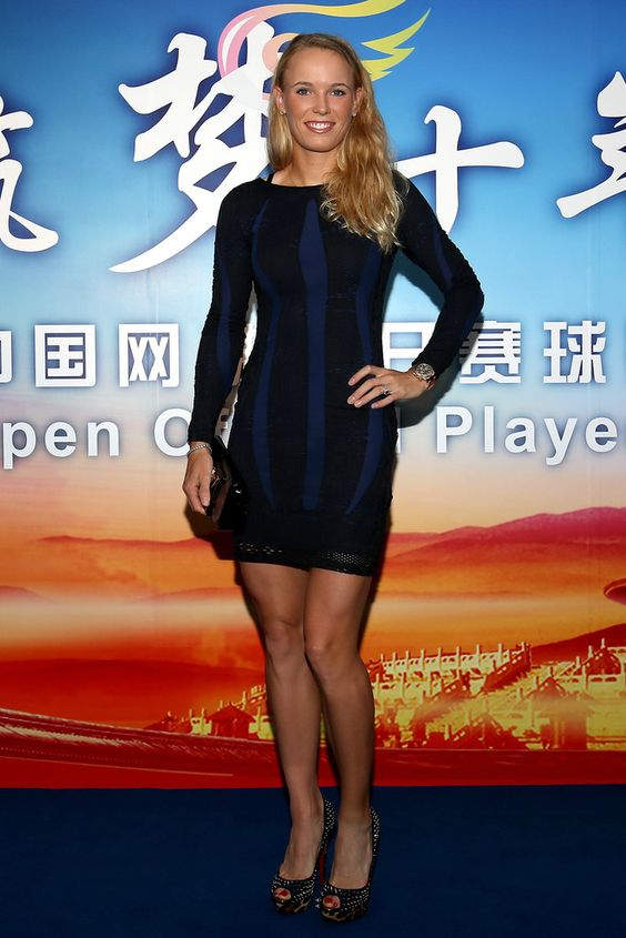 Caroline Wozniacki China Open 2013 Legs amp Heels