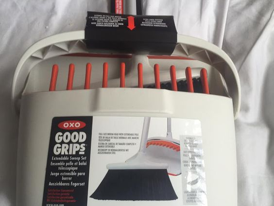 OXO Extendable Sweep Set Review and Giveaway