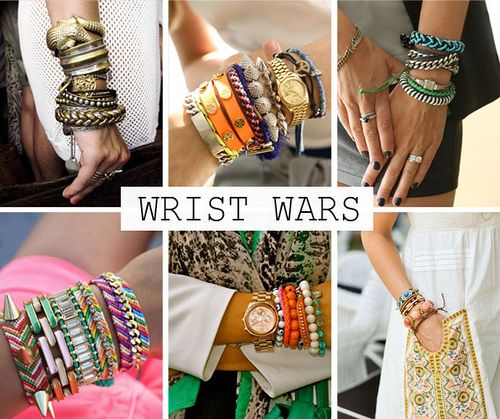 Arm Candy. Summer #Fashion Trend. Accessorize