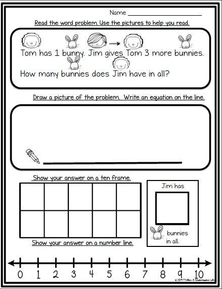 6782acb2e4110d6e7232eea7c36516df - Kindergarten Math Word Problem