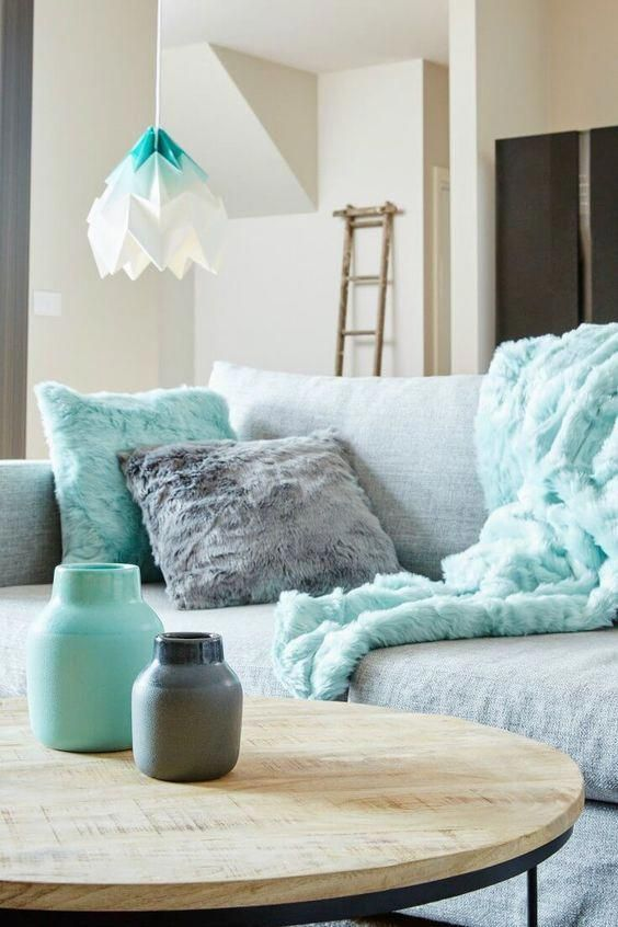 10+ Best Teal Grey And White Living Room