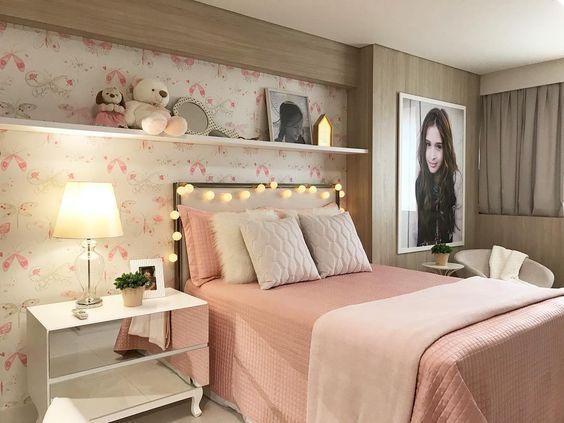 Habitaciones rosa viejo para adolescentes | Decoraciones de ...