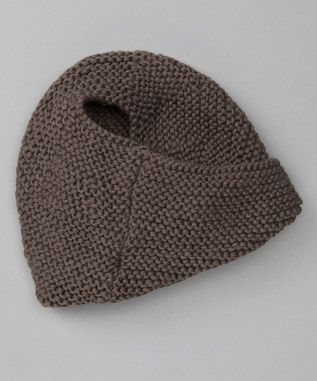 Knit Hat Pattern Ponytail Hole : These beanies have a hole in the back for your ponytail ...
