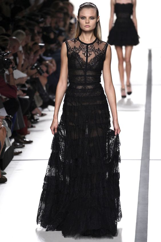 Elie Saab - Spring Summer 2014 Ready-To-Wear - Shows - Vogue.it