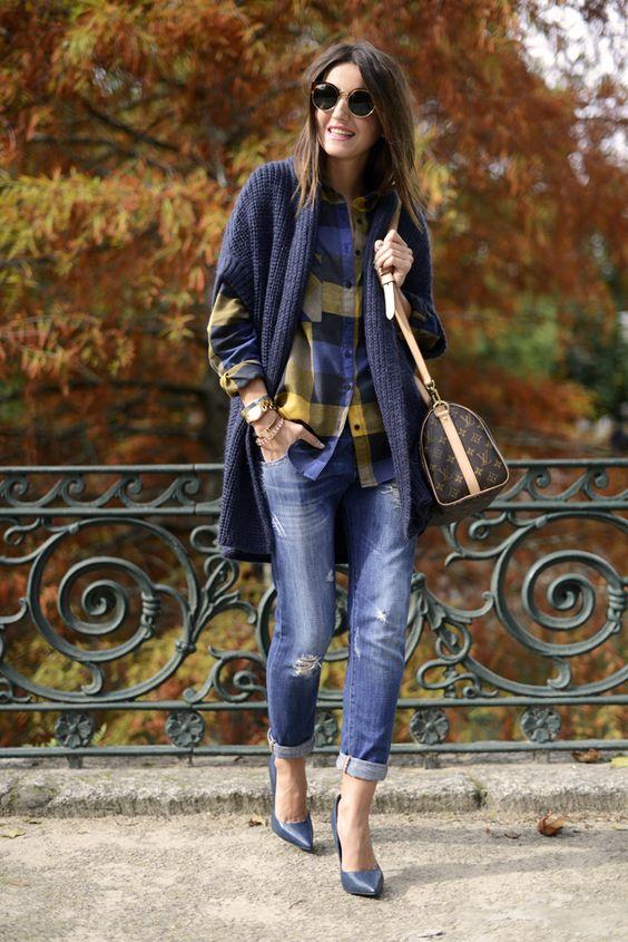 autumn in blue: