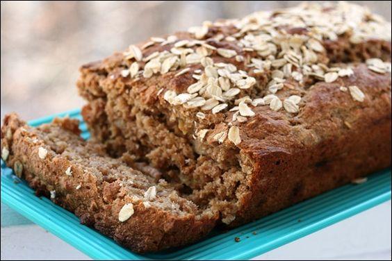 Whole Wheat Peanut Butter Banana Bread