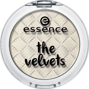 essence the velvets eyeshadow 01 fluffy clouds - essence cosmetics