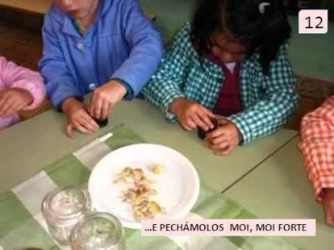 Conserva de castañas: castañas en almibre. - YouTube
