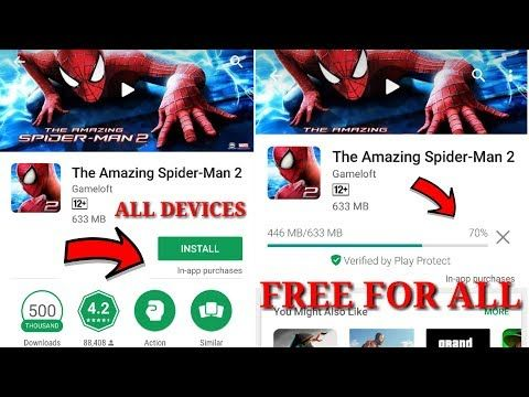 free download the amazing spider man 2 apk