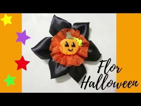 Moño Flor De Halloween Manualidades Para Vender Apliques De Halloween Manualidades Adornos Halloween