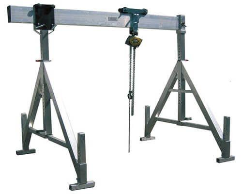 Dedicated Aluminum Portable Gantry Cranes For Sale Gantry Crane Crane Design Cranes For Sale