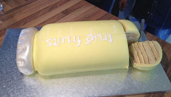 6-Jahre-true-fruits-Torte...danke an den Nikolaus