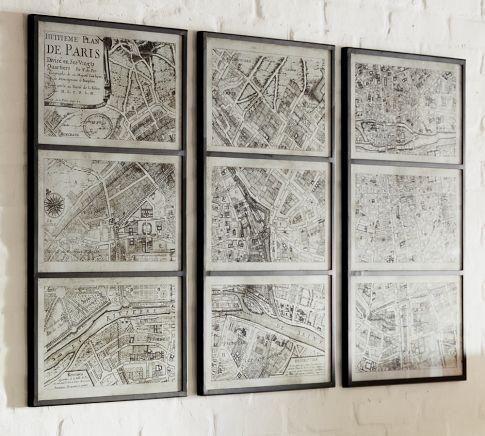 Die Letzte U Bahn Karte Wand Kunst #Möbel