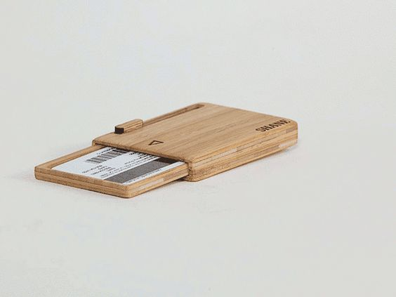 Bamboo Wallets - the unique minimalist wallets by Obrary — Kickstarter