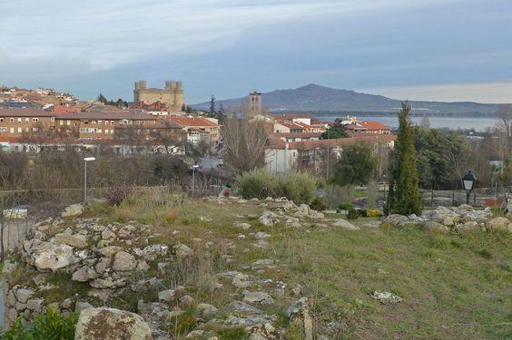 Vista panorámica de Manzanares el Real, Madrid