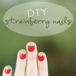 10 DIY Fruit Inspired Nails
