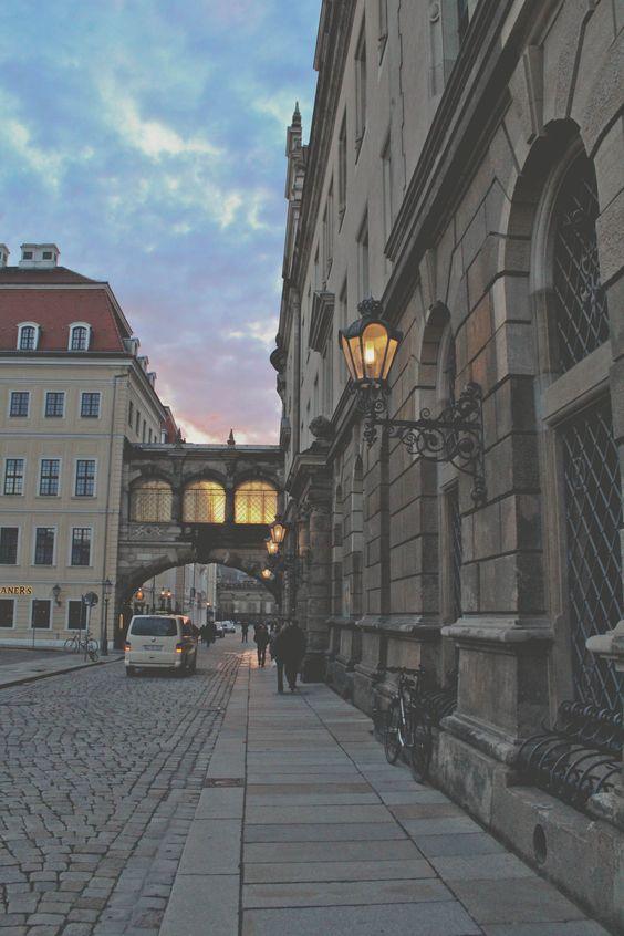 Dresden's beautiful streets - Dresden, Germany - http://laisschulz.wordpress.com/